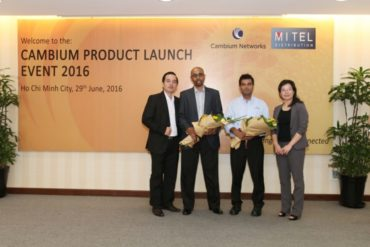 Cambium product launch event 2016 in Viet Nam