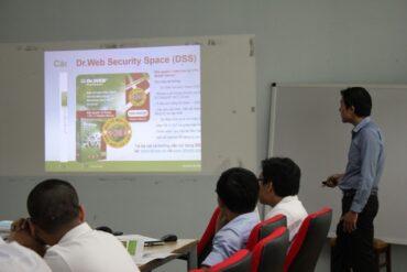 Buổi Giới Thiệu Phần Mềm Diệt Virus Và Bảo Vệ Máy Tính Toàn Diện – Dr.Web Security Space Và Dr.Web Enterprise Security Suite