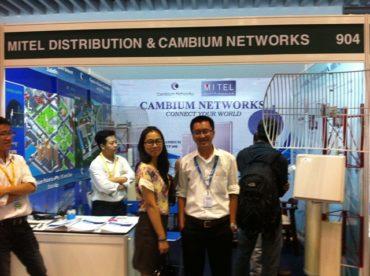 MITEL DISTRIBUTION VÀ CAMBIUM NETWORKS TẠI TRIỂN LÃM THIẾT BỊ AN NINH SECUTECH 2012