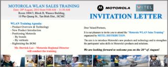 Motorola WLAN Sales Training