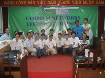 CAMBIUM NETWORKS TECHNICAL TRAINING – NÂNG CAO KỸ THUẬT CỦA BẠN