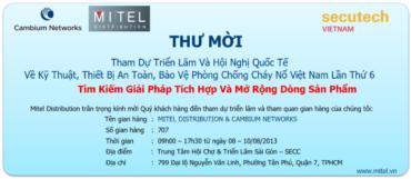 Thư Mời Triển Lãm Secutech Việt Nam 2013