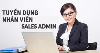 Tuyển dụng Nhân viên Sales Admin