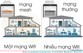 Wireless Mesh là gì?